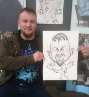 Brimingham Uk Uk Caricature Artist